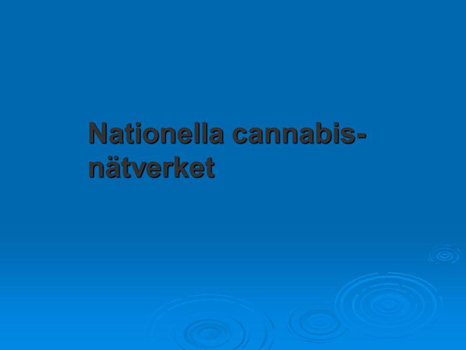 Nationella cannabis- nätverket