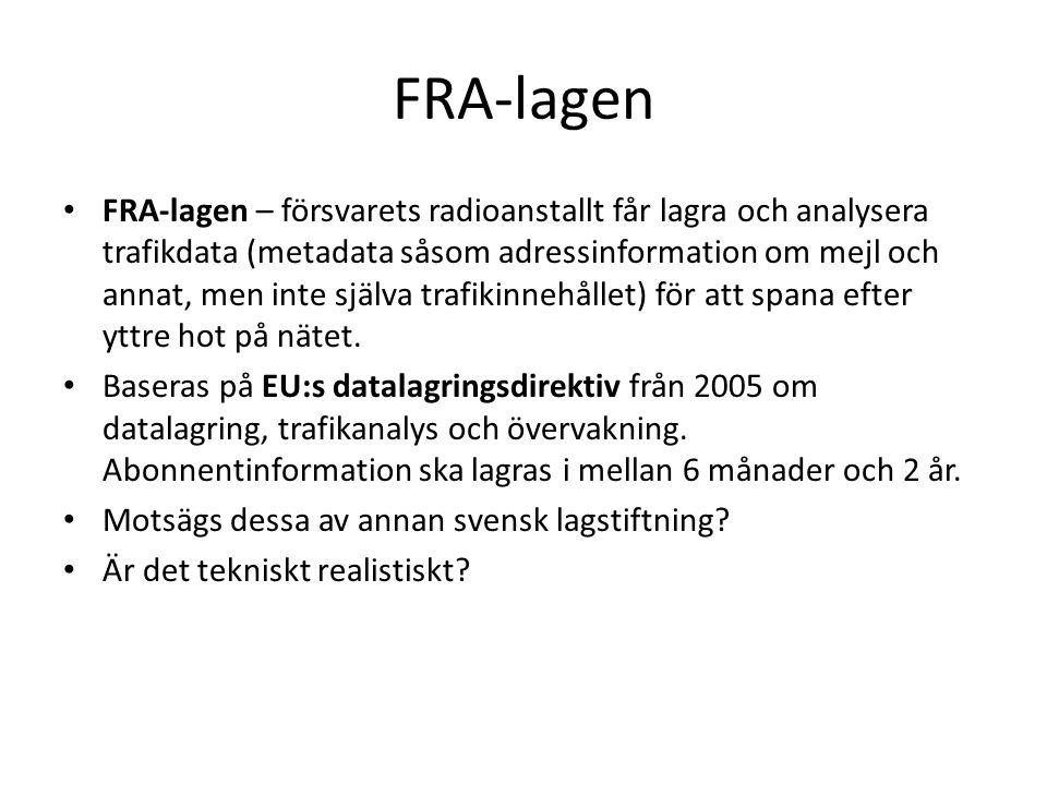 FRA-lagen
