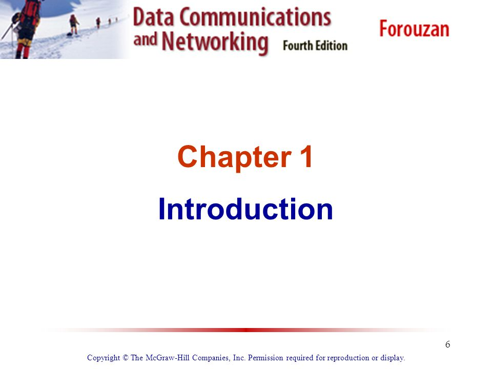 Chapter 1 Introduction. Copyright © The McGraw-Hill Companies, Inc.