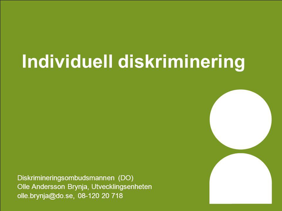 Individuell diskriminering