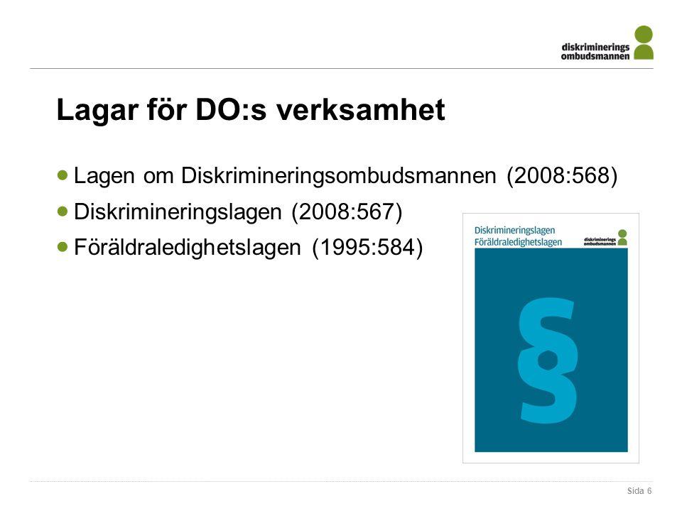 Lagar för DO:s verksamhet