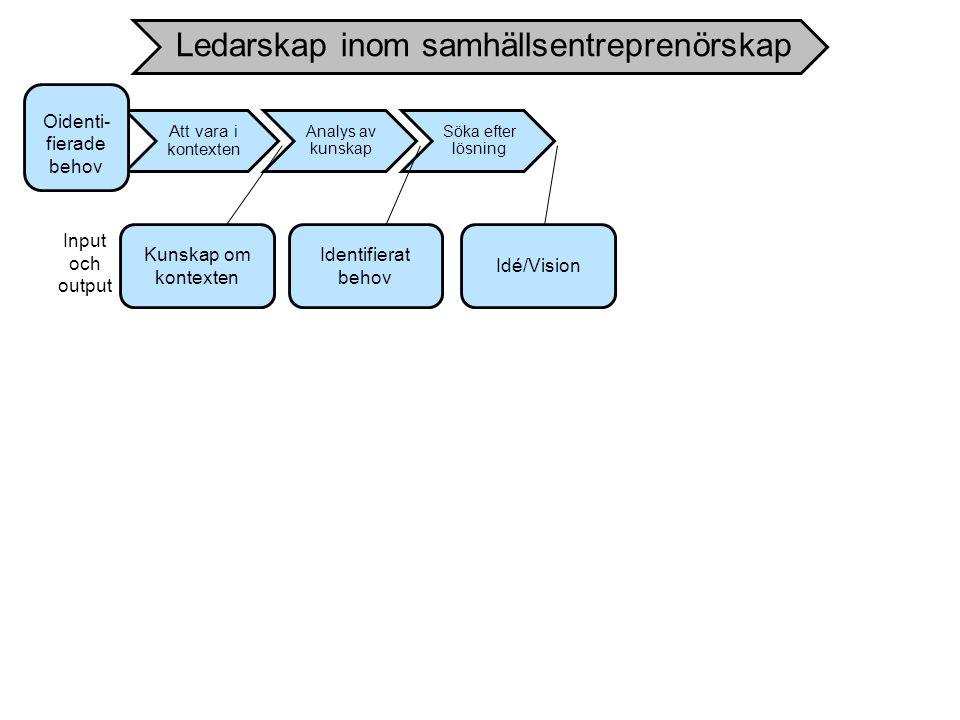 Ledarskap inom samhällsentreprenörskap