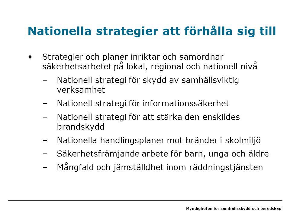 Nationella strategier att förhålla sig till