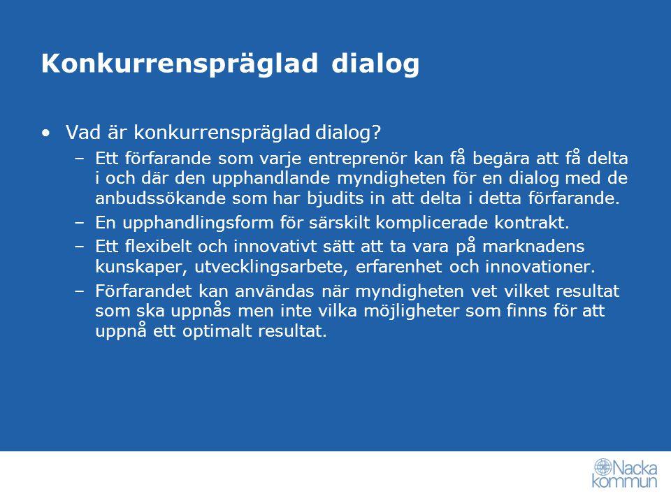 Konkurrenspräglad dialog