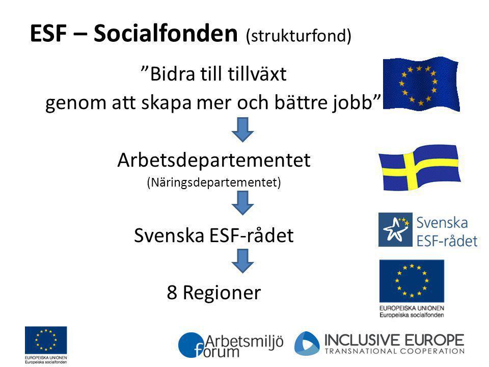 ESF – Socialfonden (strukturfond)