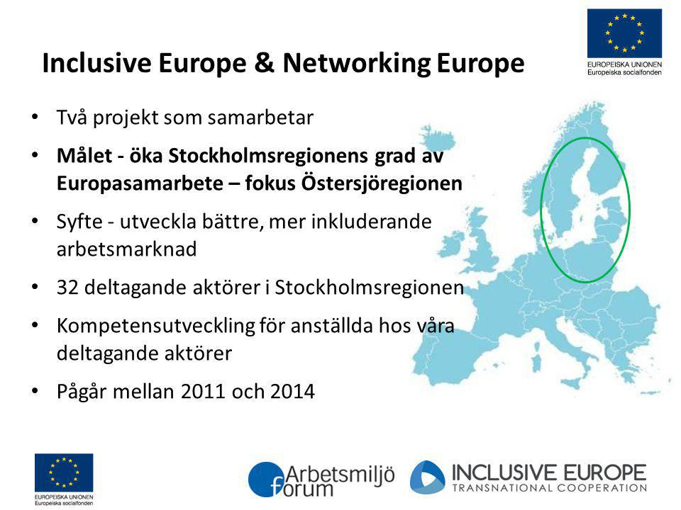 Inclusive Europe & Networking Europe