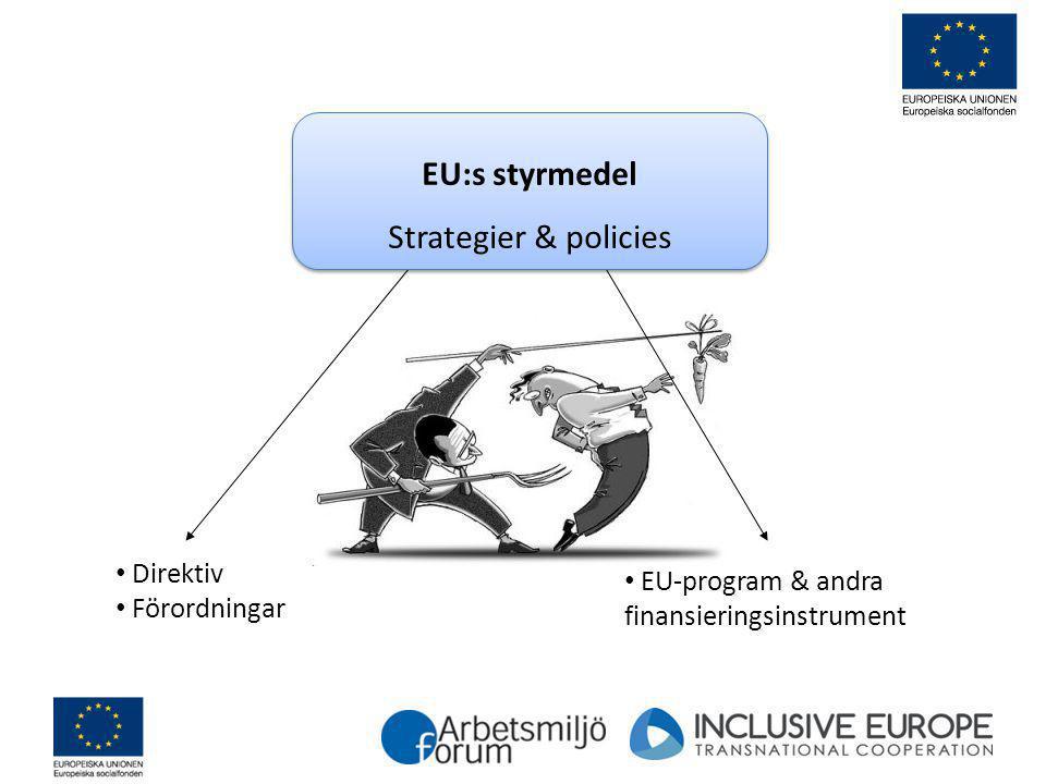 EU:s styrmedel Strategier & policies Direktiv