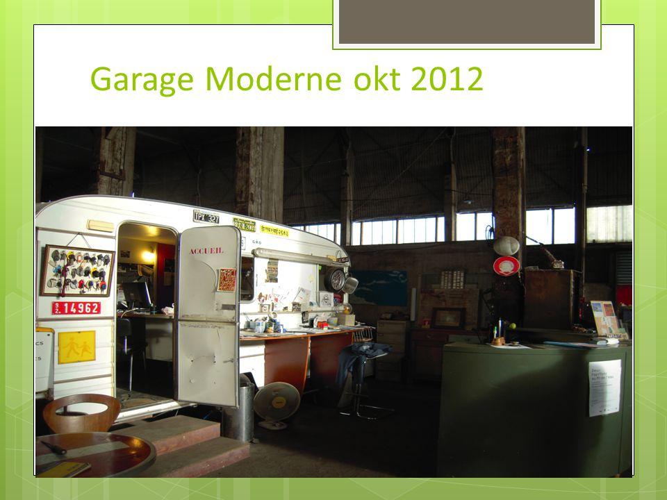 Garage Moderne okt 2012