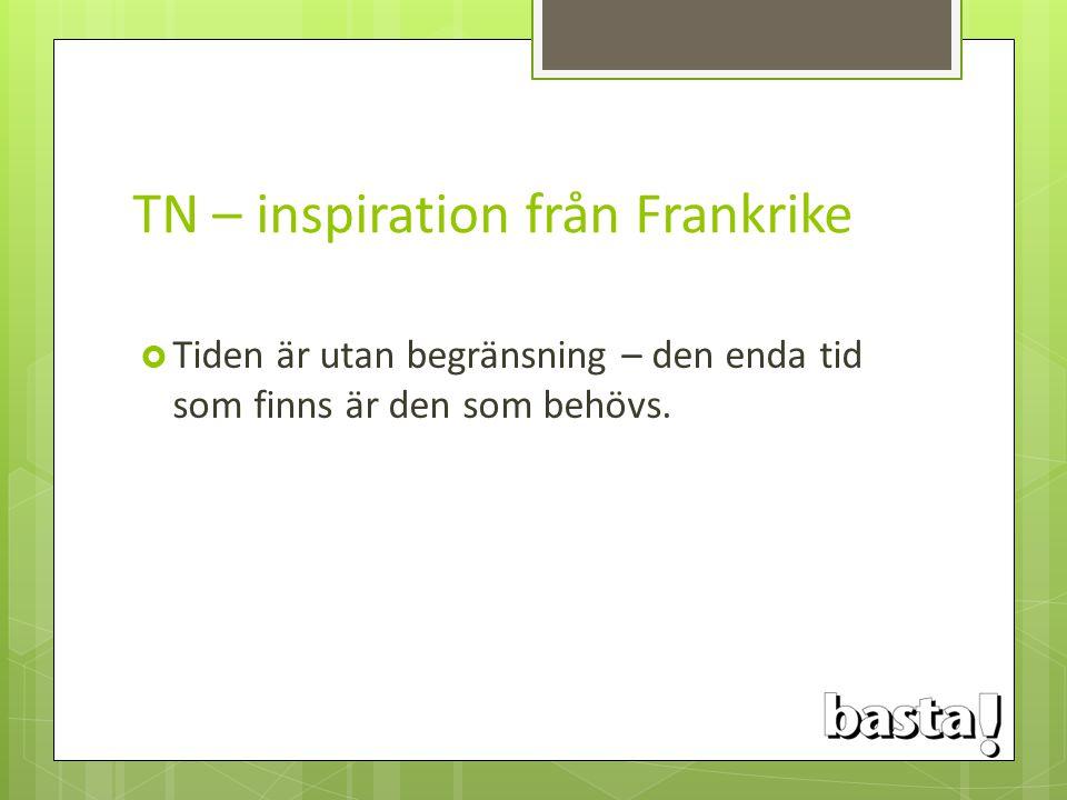 TN – inspiration från Frankrike