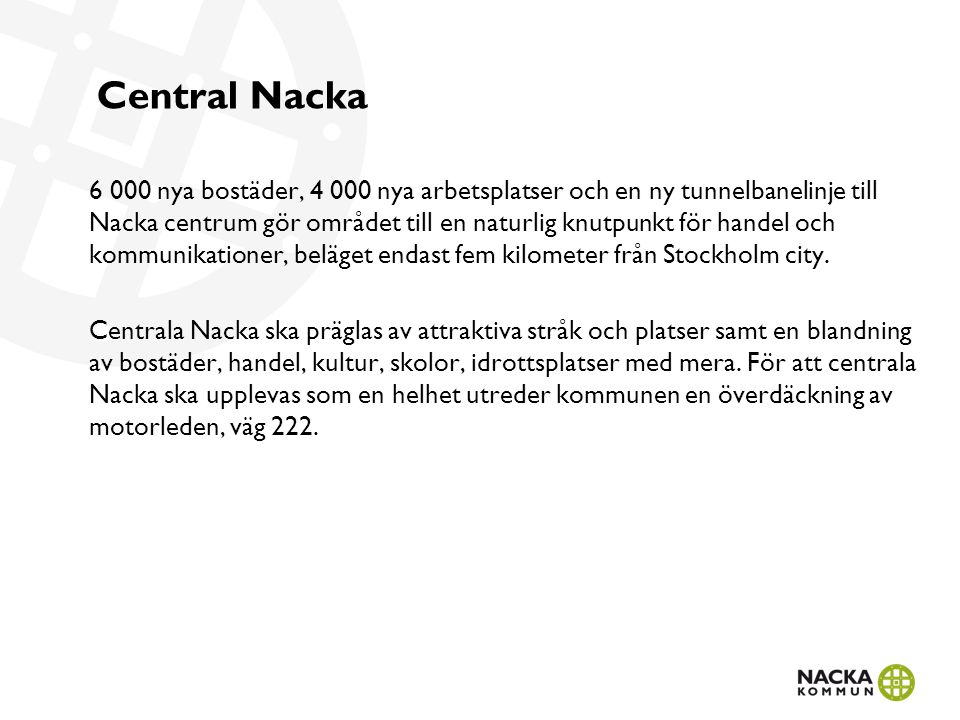 Central Nacka