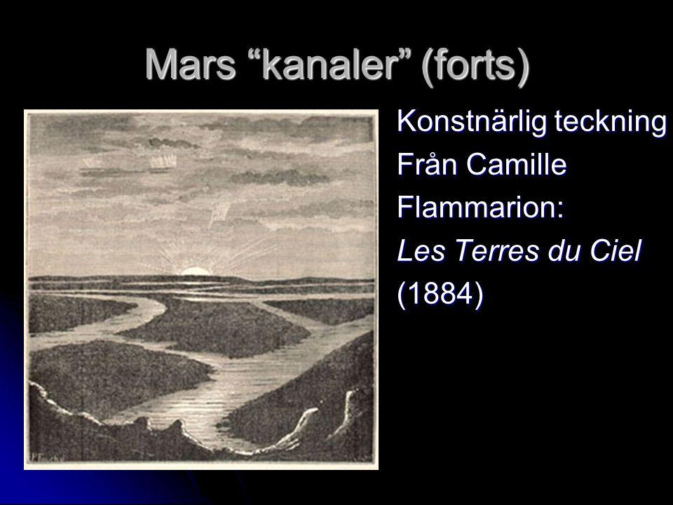 Mars kanaler (forts)