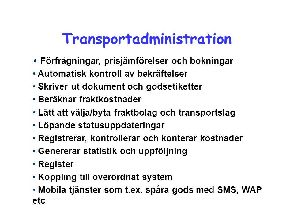 Transportadministration