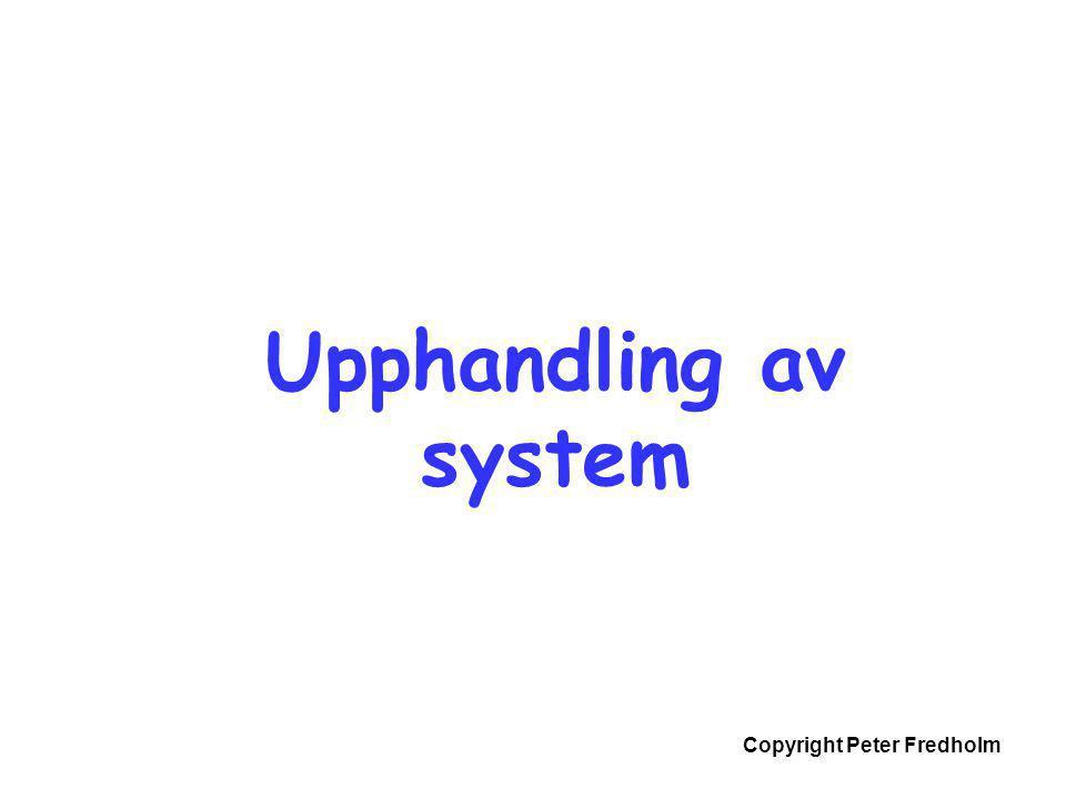 Upphandling av system