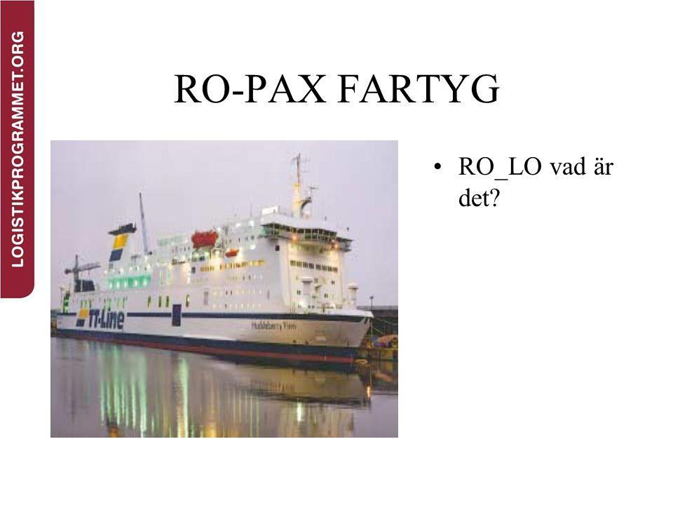 RO-PAX FARTYG RO_LO vad är det