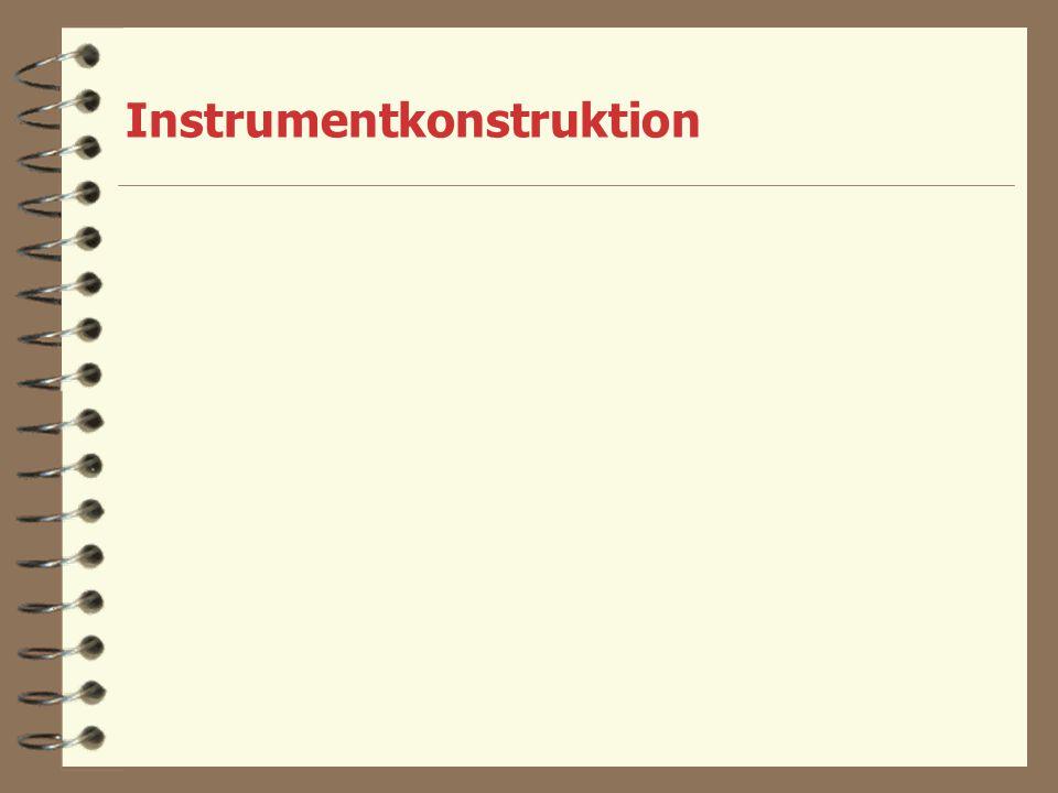 Instrumentkonstruktion
