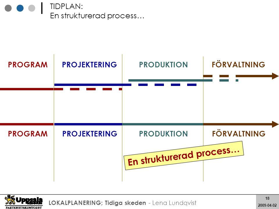 En strukturerad process…