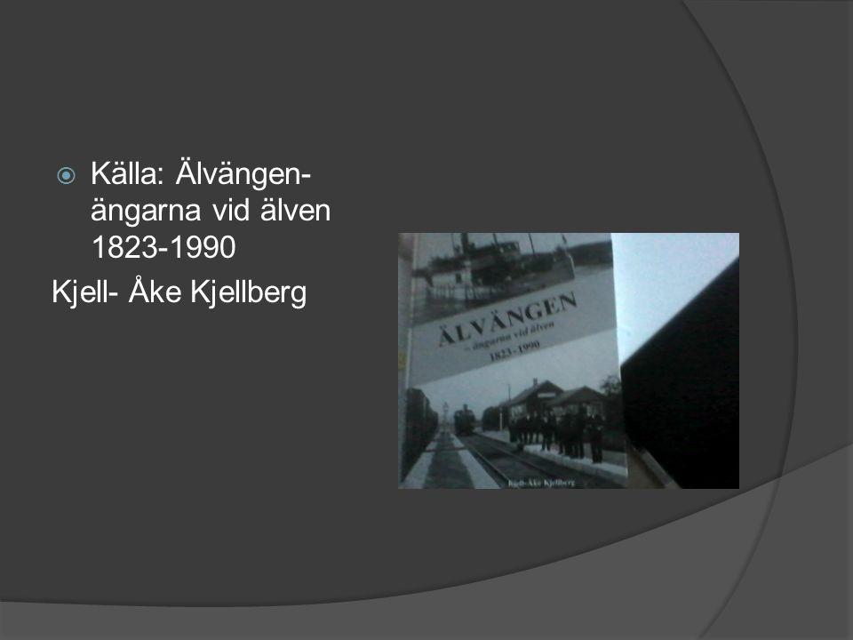 Källa: Älvängen- ängarna vid älven 1823-1990