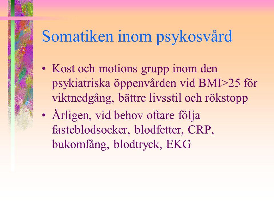 Somatiken inom psykosvård