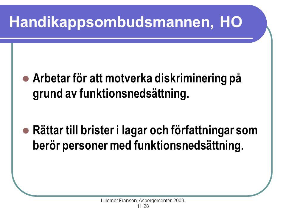 Handikappsombudsmannen, HO