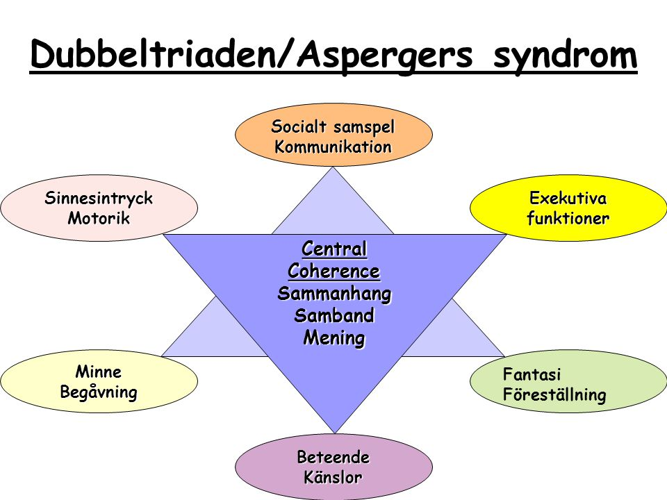 Dubbeltriaden/Aspergers syndrom