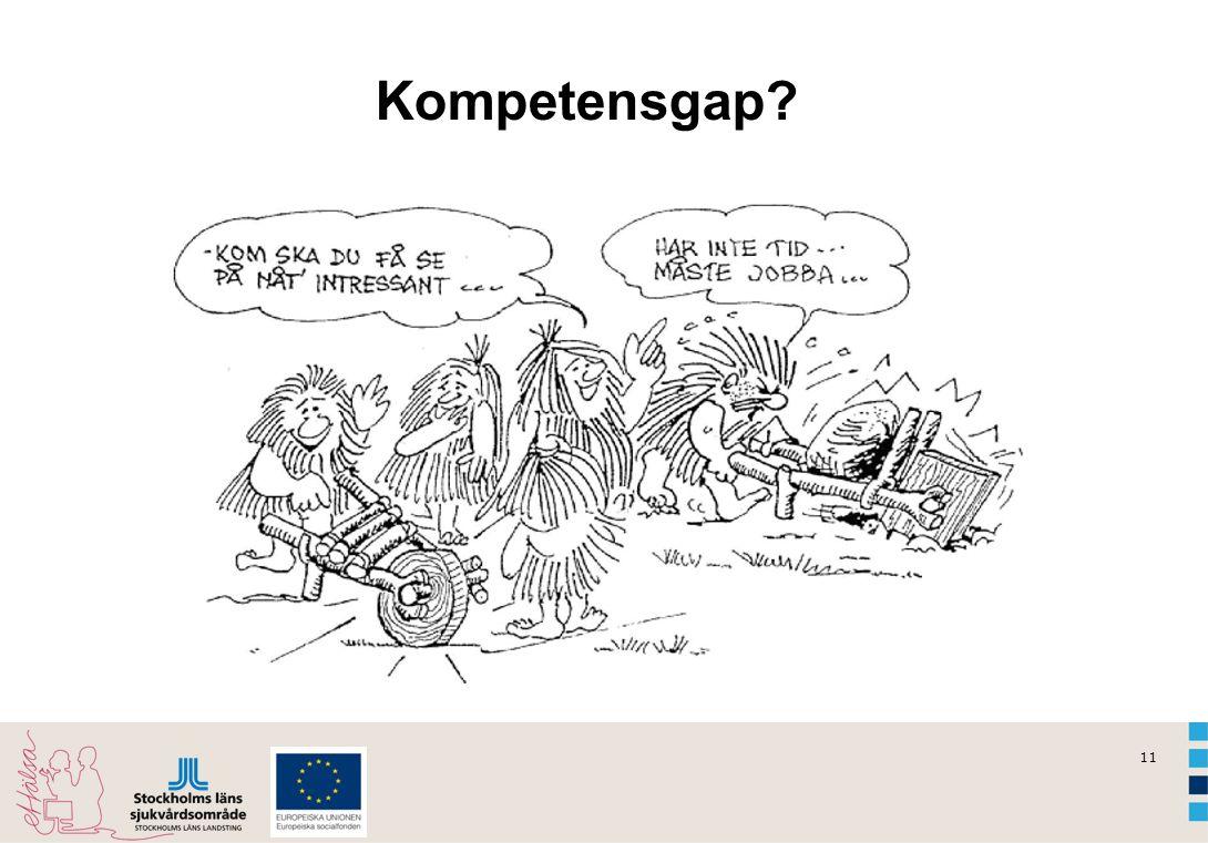 Kompetensgap Dialog: Genom seminarier vill vi lyfta fram vad som finns och i dialog gemensamt utvecklas.