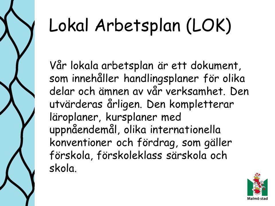 Lokal Arbetsplan (LOK)