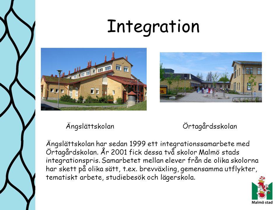 Integration Ängslättskolan Örtagårdsskolan