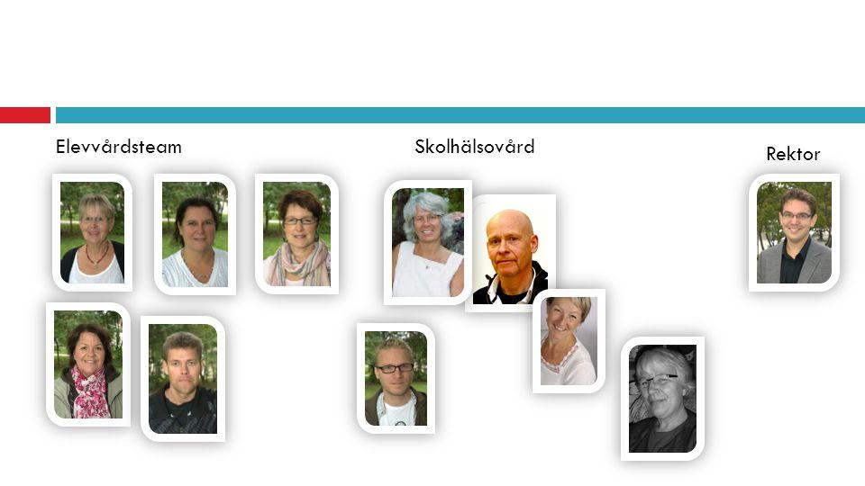 Elevvårdsteam Skolhälsovård Rektor