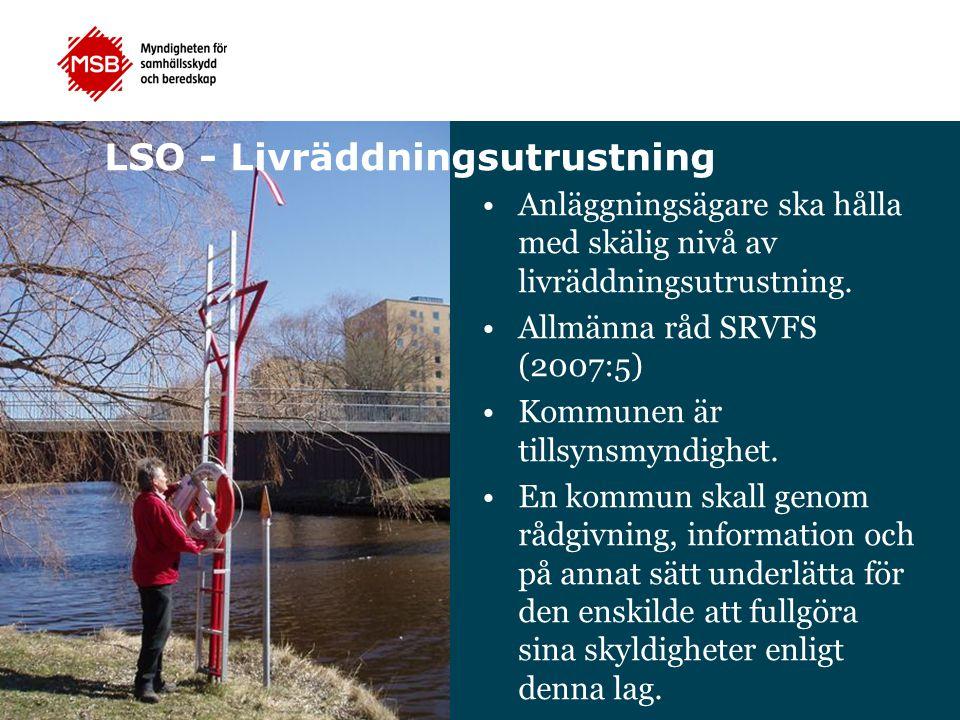 LSO - Livräddningsutrustning