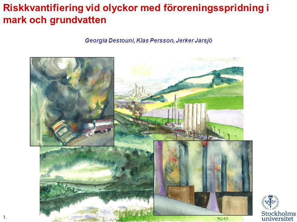 Georgia Destouni, Klas Persson, Jerker Jarsjö