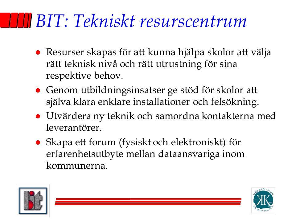 BIT: Tekniskt resurscentrum