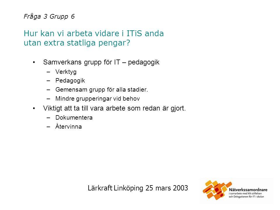 Samverkans grupp för IT – pedagogik
