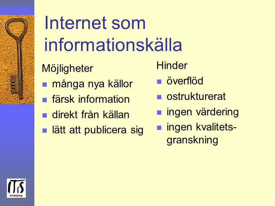 Internet som informationskälla