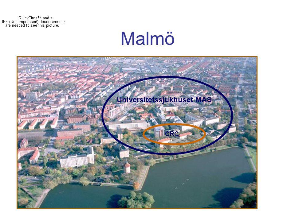 Malmö Universitetssjukhuset MAS CRC