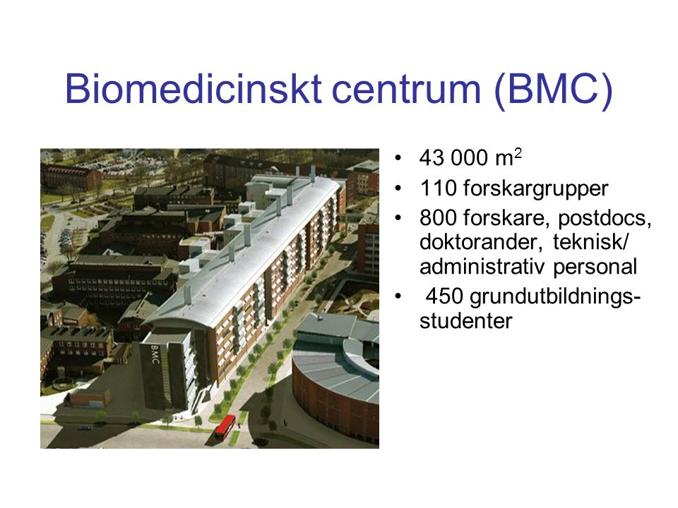 Biomedicinskt centrum (BMC)