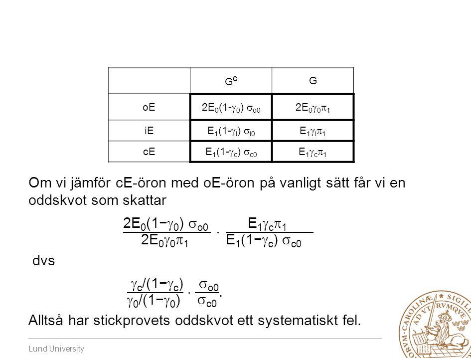 2E0(1−0) o0 2E001  E1c1 E1(1−c) c0 dvs
