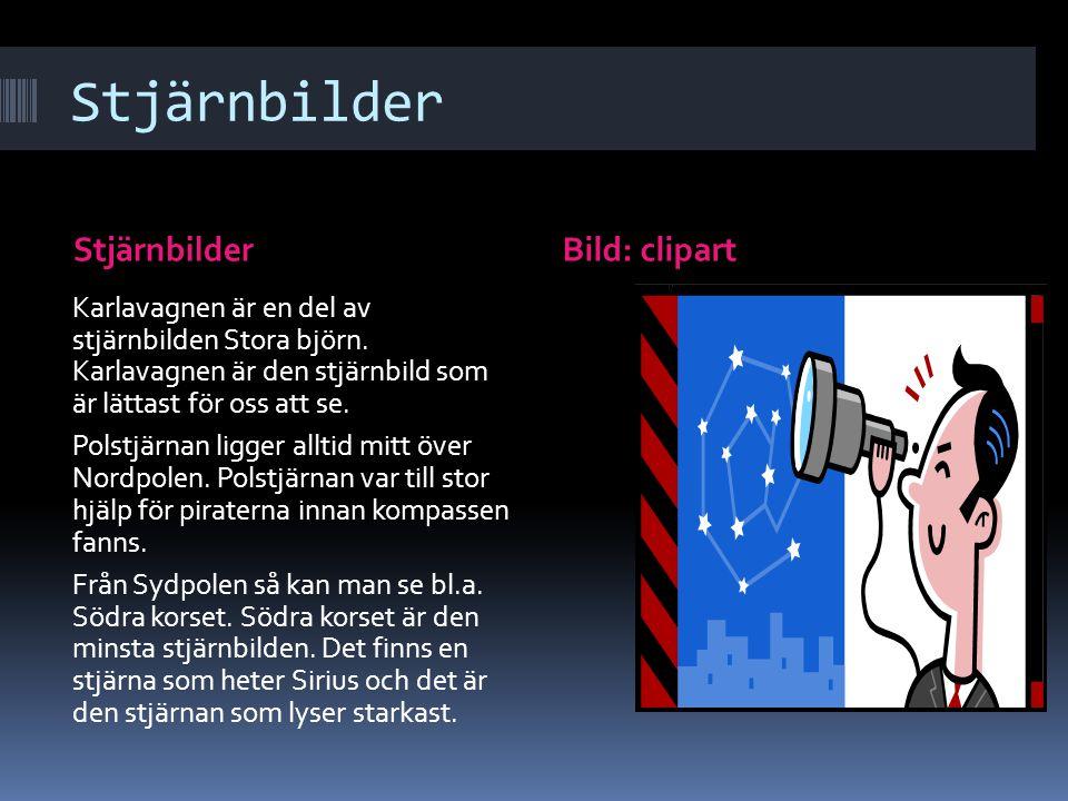 Stjärnbilder Stjärnbilder Bild: clipart