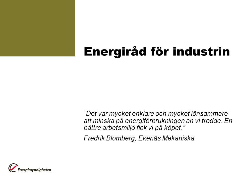 Energiråd för industrin
