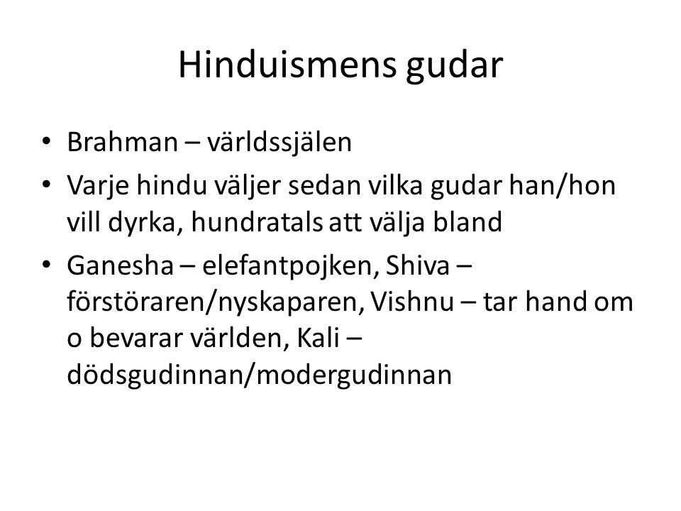 Hinduismens gudar Brahman – världssjälen