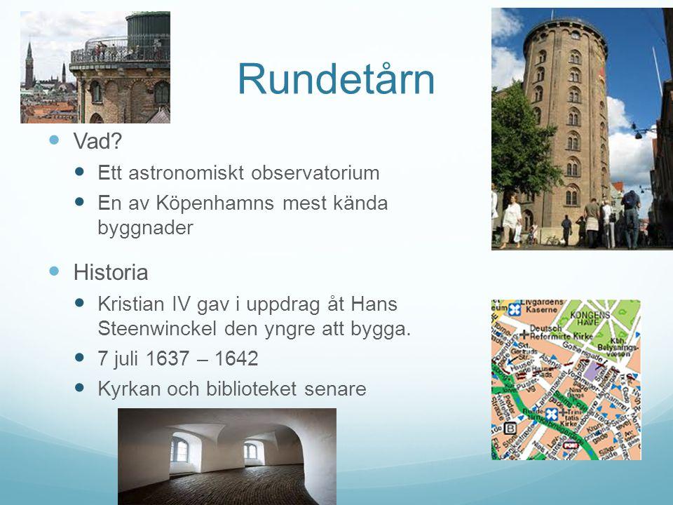 Rundetårn Vad Historia Ett astronomiskt observatorium