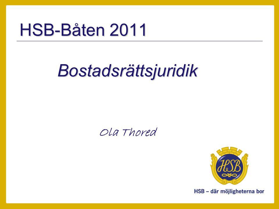 Bostadsrättsjuridik Ola Thored