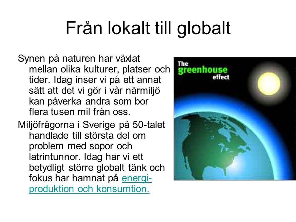 Från lokalt till globalt