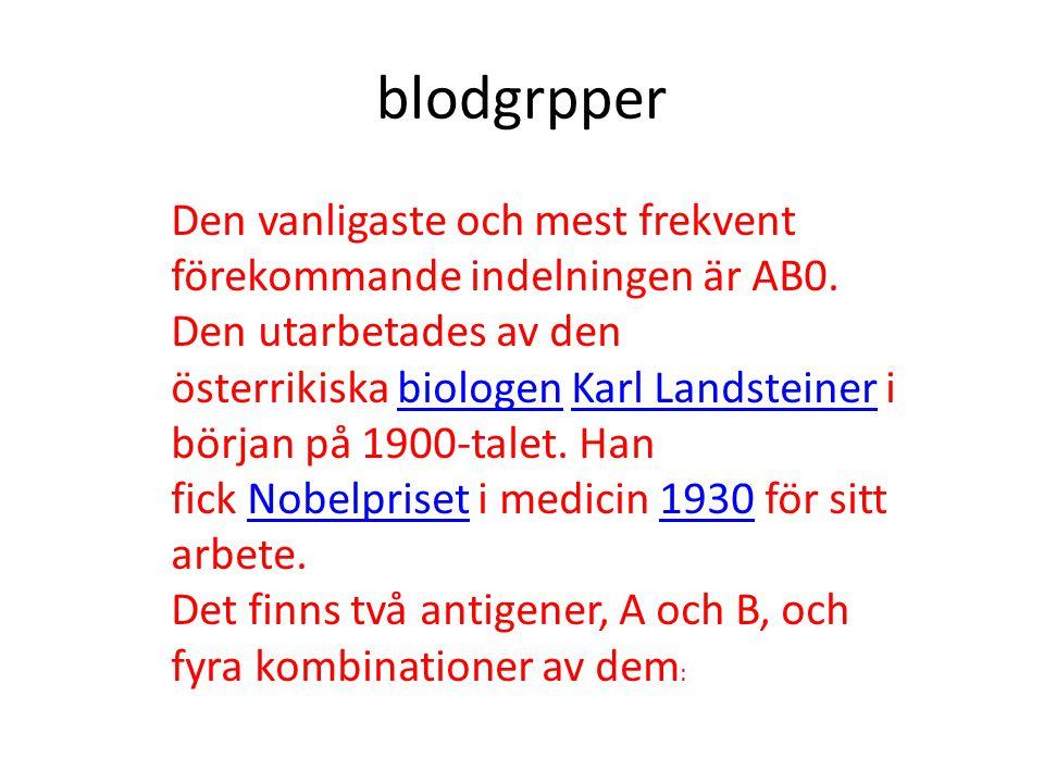 blodgrpper