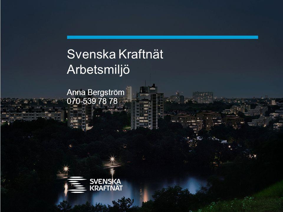 Svenska Kraftnät Arbetsmiljö
