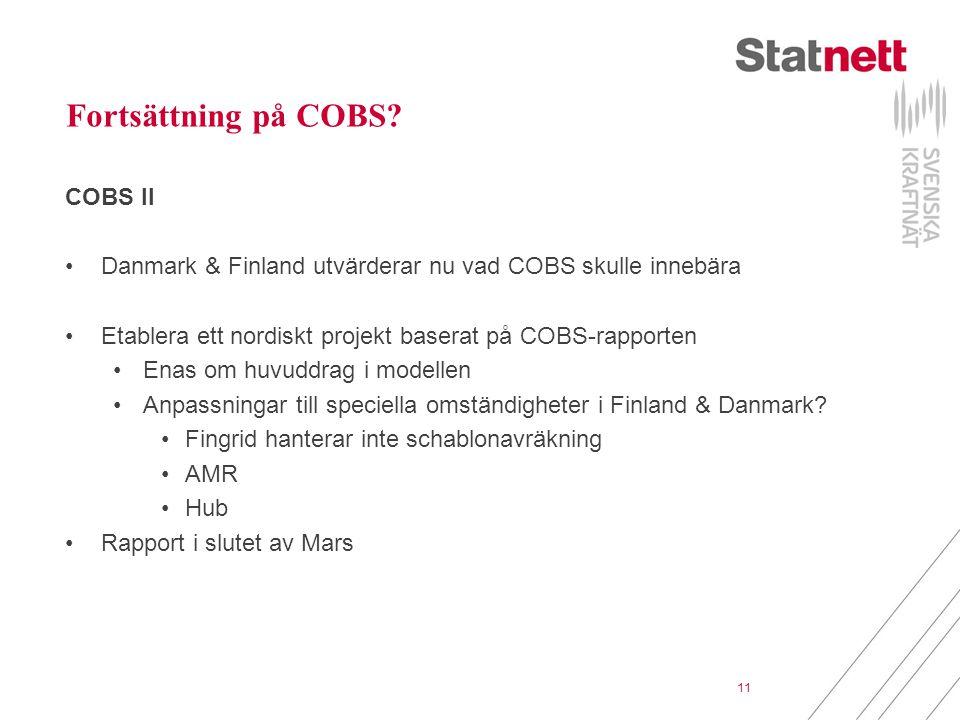 Fortsättning på COBS COBS II