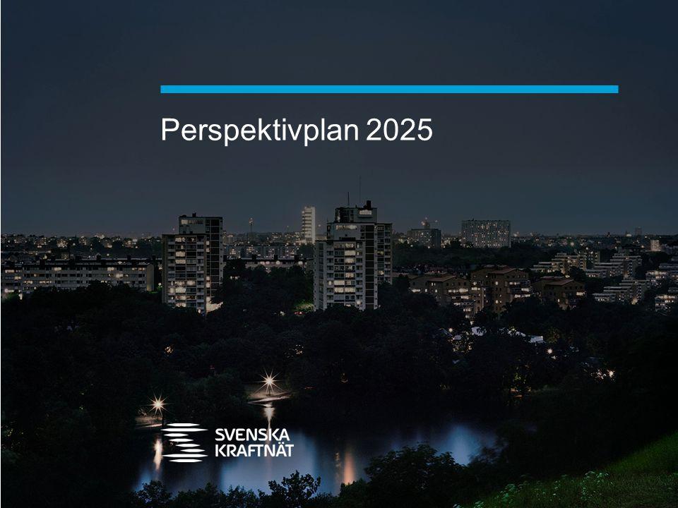 Perspektivplan 2025 DISPOSITION Energi- och klimatpolitiken
