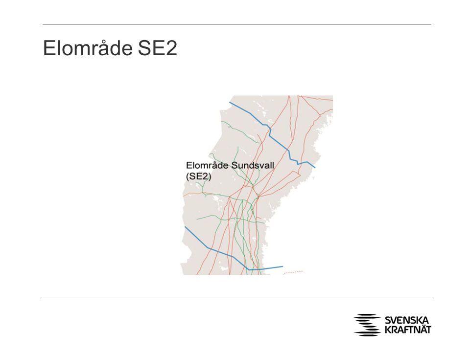 Elområde SE2 > Två AC utlandsförbindelser till Norge