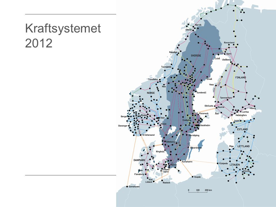 Kraftsystemet 2012