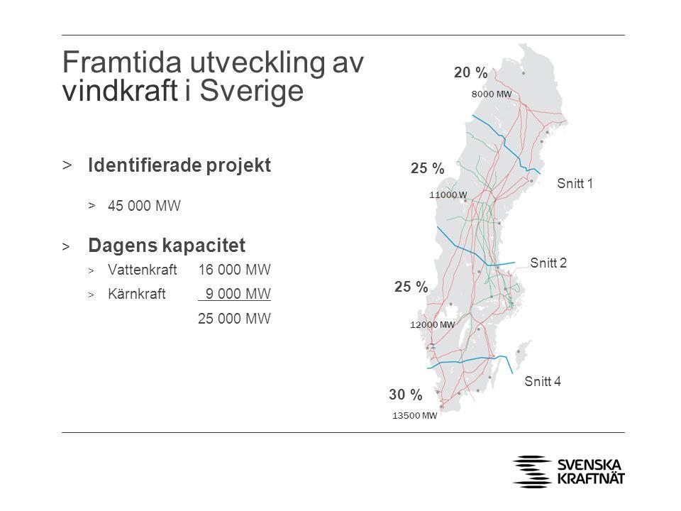 Framtida utveckling av vindkraft i Sverige