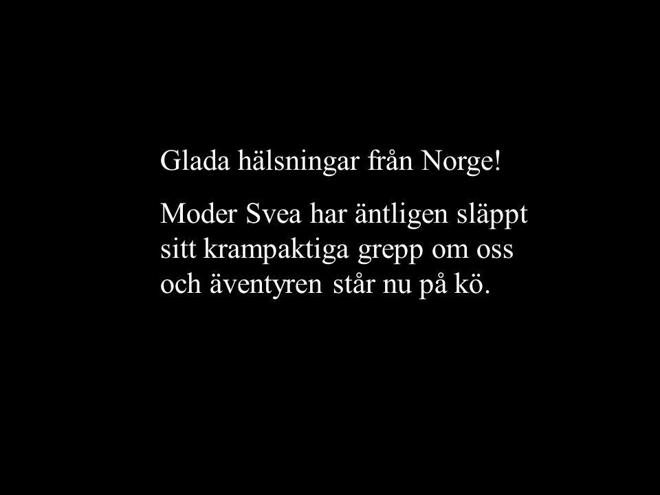 Glada hälsningar från Norge!